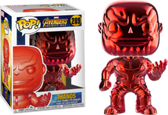 Avengers 3: Infinity War - Thanos Red Chrome US Exclusive Pop! Vinyl Figure