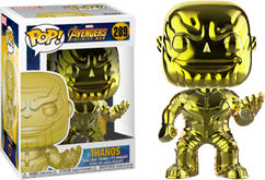 Avengers 3: Infinity War - Thanos Yellow Chrome US Exclusive Pop! Vinyl Figure