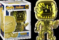 Avengers 3: Infinity War - Thanos Yellow Chrome US Exclusive Pop! Vinyl Figure
