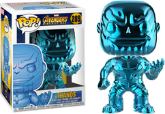 Avengers 3: Infinity War - Thanos Blue Chrome US Exclusive Pop! Vinyl Figure