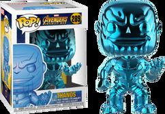 Avengers 3: Infinity War - Thanos Blue Chrome US Exclusive Pop! Vinyl Figure
