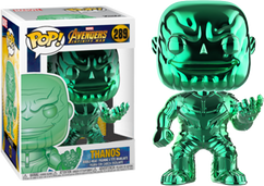 Avengers 3: Infinity War - Thanos Green Chrome US Exclusive Pop! Vinyl Figure