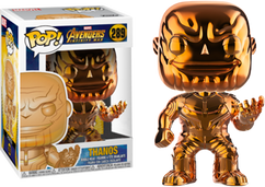 Avengers 3: Infinity War - Thanos Orange Chrome US Exclusive Pop! Vinyl Figure