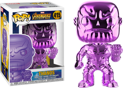 Avengers 3: Infinity War - Thanos Orange Purple US Exclusive Pop! Vinyl Figure