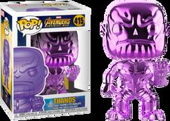 Avengers 3: Infinity War - Thanos Orange Purple US Exclusive Pop! Vinyl Figure