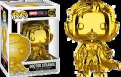 Marvel Studios: The First Ten Years - Doctor Strange Gold Chrome Pop! Vinyl Figure
