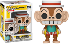 Cuphead - Mr. Chimes US Exclusive Pop! Vinyl Figure