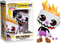 Cuphead - Evil Cuphead US Exclusive Pop! Vinyl Figure