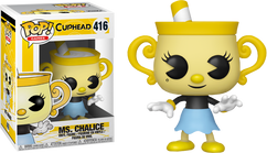 Cuphead - Ms. Chalice Pop! Vinyl Figure