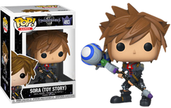 Kingdom Hearts III - Sora Toy Story US Exclusive Pop! Vinyl Figure