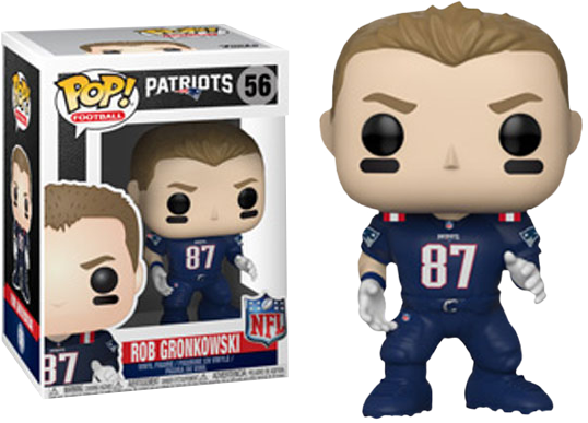 new arrival 3dbc7 dac28 NFL Football - Rob Gronkowski New England Patriots Color Rush Pop! Vinyl  Figure