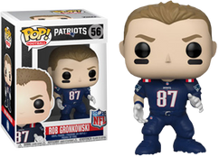 NFL Football - Rob Gronkowski New England Patriots Color Rush Pop! Vinyl  Figure 3923caa8f