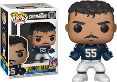 NFL Football -  Junior Seau L.A. Chargers Legends Pop! Vinyl Figure