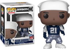 NFL Football - Deion Sanders Dallas Cowboys Legends Pop! Vinyl Figure