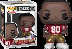 NFL Football - Jerry Rice San Francisco 49ers Legends Pop! Vinyl Figure