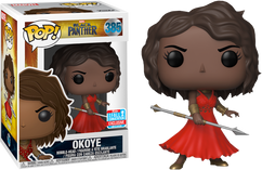 Black Panther (2018) - Okoye in Red Dress NYCC18 Pop! Vinyl Figure