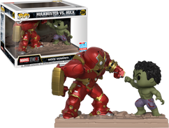 Marvel Studios: The First Ten Years - Hulkbuster vs Hulk Movie Moment NYCC18 Pop! Vinyl Figure 2-Pack