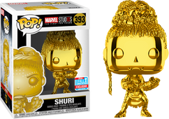 Marvel Studios: The First Ten Years - Shuri Gold Chrome NYCC18 Pop! Vinyl Figure