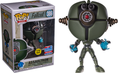 Fallout - Assaultron Glow in the Dark NYCC18 Pop! Vinyl Figure