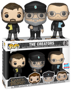 Game of Thrones - The Creators NYCC18 Pop! Vinyl Figure 3-Pack