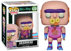 Rick and Morty - Gearhead NYCC2018 Pop! Vinyl Figure