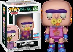 Rick and Morty - Gearhead NYCC2018 Pop! Vinyl Figure