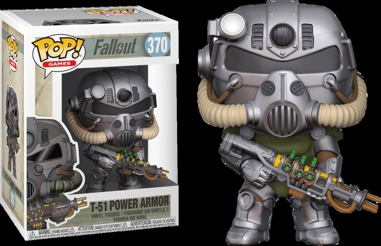 Fallout T 51 Power Armor Pop Vinyl Figure
