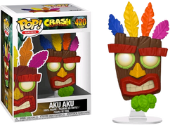 Crash Bandicoot - Aku Aku Pop! Vinyl Figure