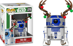 Star Wars - R2D2 with Antlers Christmas Holiday Pop! Vinyl Figure