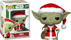 Star Wars - Yoda as Santa Christmas Holiday Pop! Vinyl Figure