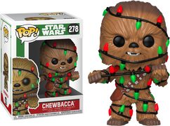 Star Wars - Chewbacca with Lights Christmas Holiday Pop! Vinyl Figure