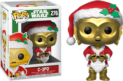 Star Wars - C-3PO as Santa Christmas Holiday Pop! Vinyl Figure