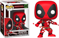 Deadpool - Marvel Holiday Pop! with Christmas Candy Canes Vinyl Figure