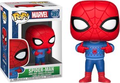 Spider-Man - Marvel Holiday Pop! in Ugly Christmas Sweater Vinyl Figure