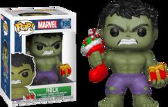 Hulk - Marvel Holiday Pop! with Christmas Stocking Vinyl Figure