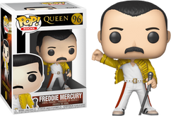 Queen - Freddie Mercury Wembley 1986 Pop! Vinyl Figure
