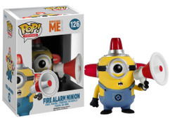Fire Alarm Minion from Despicable Me Minion Made - Pop Movies Vinyl Figure