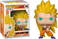 Dragon Ball Z - Super Saiyan 3 Goku US Exclusive Pop! Vinyl Figure
