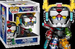 "Voltron: Legendary Defender - Voltron 6"" Metallic Super Sized US Exclusive Pop! Vinyl Figure"