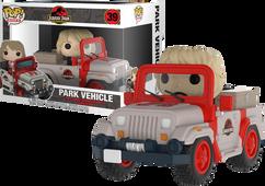 Jurassic Park - Dr Ellie Sattler in Park Vehicle Pop! Rides Vinyl Figure