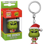 The Grinch - Santa Grinch Pop! Vinyl Keychain