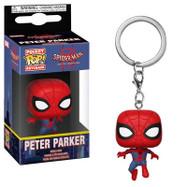 Spider-Man: Into The Spider-Verse - Peter Parker Spider-Man Pop! Vinyl Keychain
