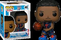NBA Basketball - Russell Westbrook Oklahoma City Thunder Pop! Vinyl Figure
