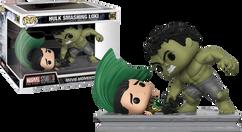 Marvel Studios: The First Ten Years - Hulk Smashing Loki Movie Moment US Exclusive Pop! Vinyl Figure 2-Pack