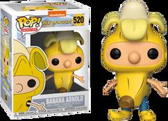 Hey Arnold - Arnold in Banana Suit US Exclusive Pop! Vinyl Figure