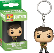 Fortnite - Highrise Assault Trooper Pocket Pop! Vinyl Keychain