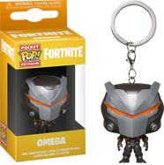 Fortnite - Omega Pocket Pop! Vinyl Keychain