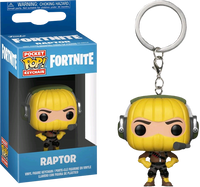 Fortnite - Raptor Pocket Pop! Vinyl Keychain