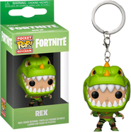 Fortnite - Rex Pocket Pop! Vinyl Keychain