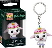 Rick and Morty - Tinkles Pocket Pop! Vinyl Keychain